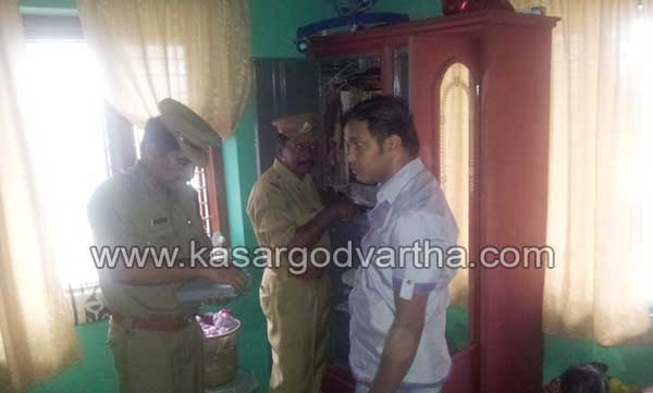 Robbery, Kasaragod, House, Gold, Kerala, Power Cutt, Theft, Police, Wedding, Hotel, Work, Case, Compalint, Kasaragod News, Kerala News, 