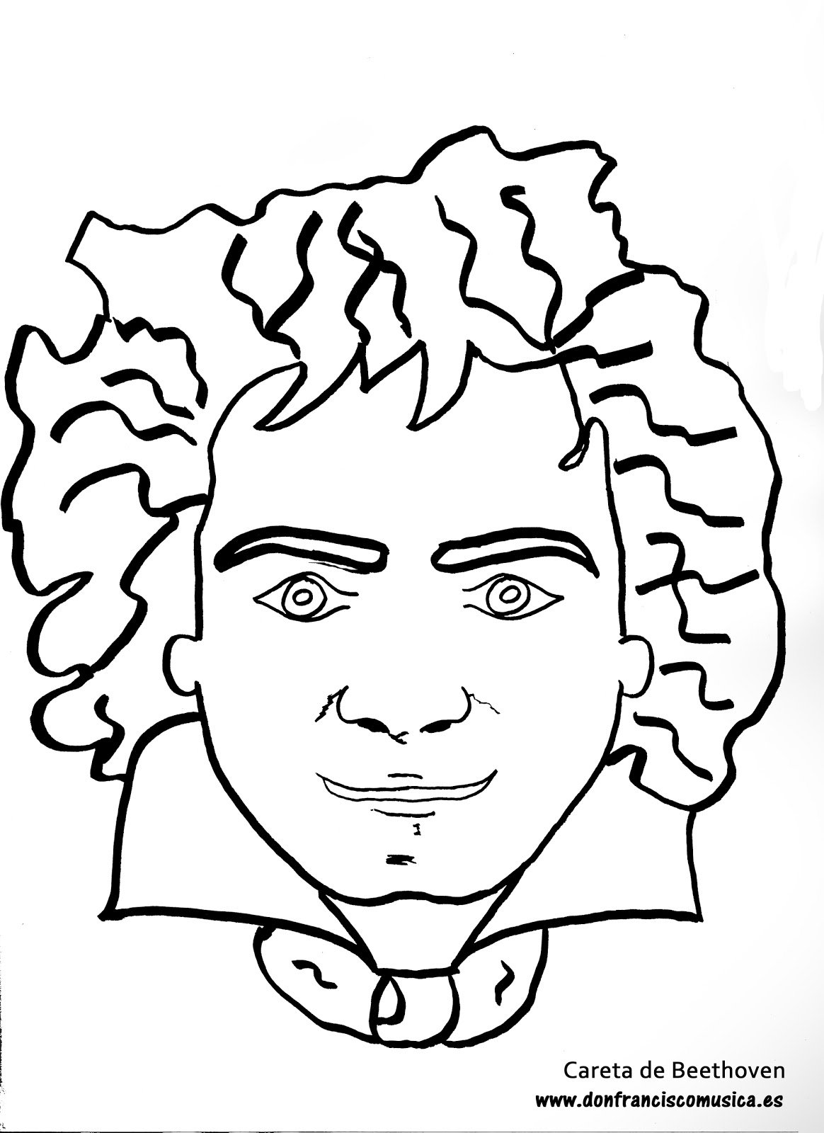 Free Coloring Pages Of Beethoven