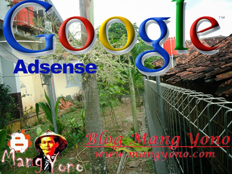 Google Adsense Cair Pagarpun Terpasang