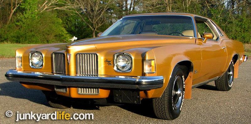 Wanted 1973 Pontiac Grand Prix front valance 1973-pontiac-grand-prix-sj-grill