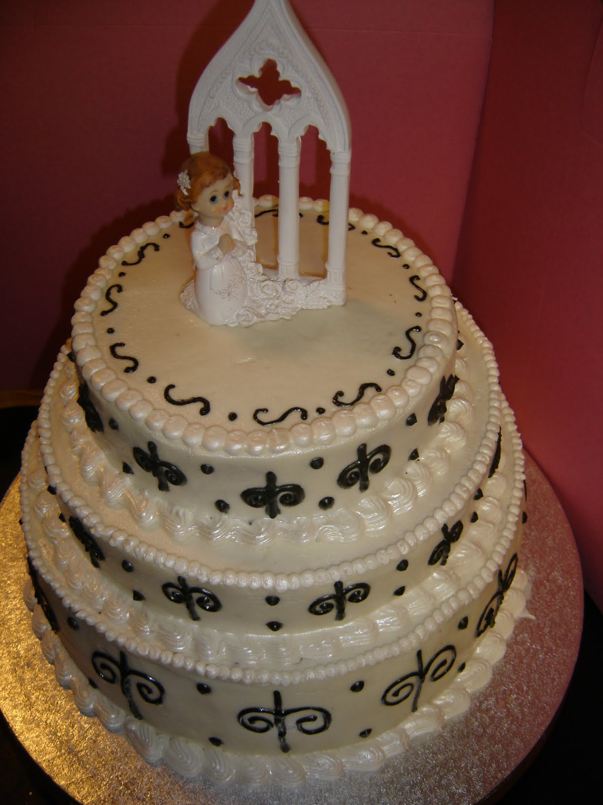 Tasty Pastry Cakes And More First Communion Cake