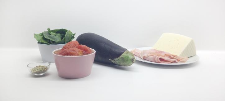 Receta Lasaña de Berenjenas - Ingredientes - Hansel y Greta