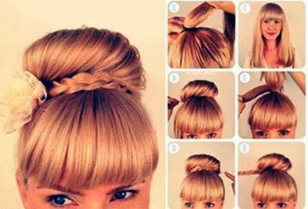Hairstyles Up Easy : easy hairstyles 2014