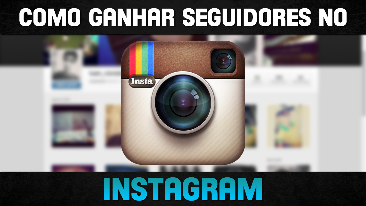 SEGUIDORES NO INSTAGRAM, TUTORIAL.