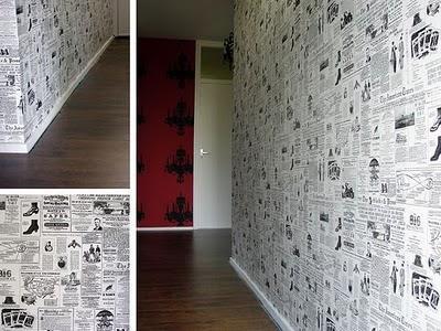 Empapelando noticias lascafe - Papel empapelar paredes ...