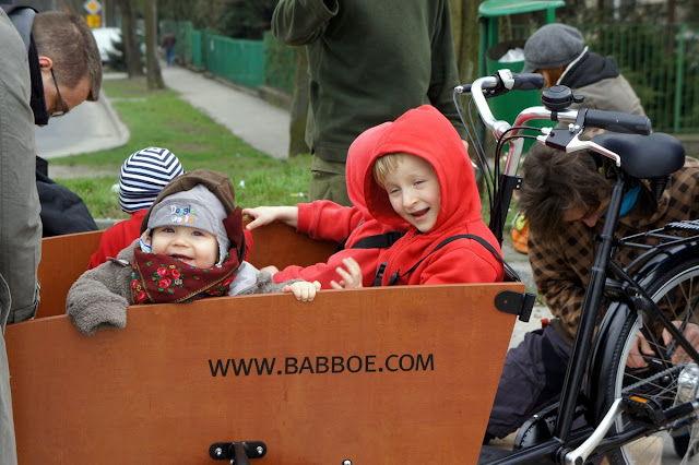 rower cargo do transportu dzieci kraków