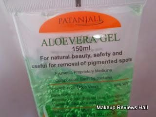 Patantali Products Review - Aloe Vera Gel