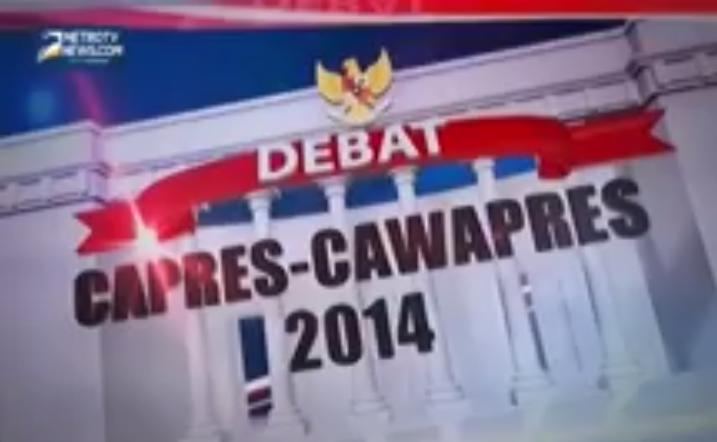 Debat Capres 5 Juli 2014