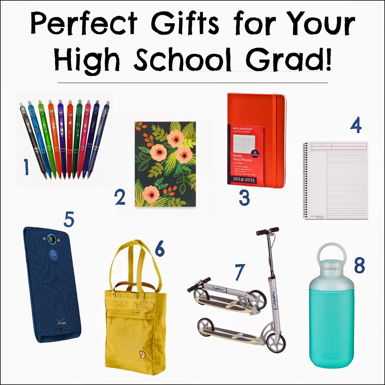 Perfect Gifts for Your High School Grad! on Diane's Vintage Zest!  #DROIDTurbo #CleverGirls