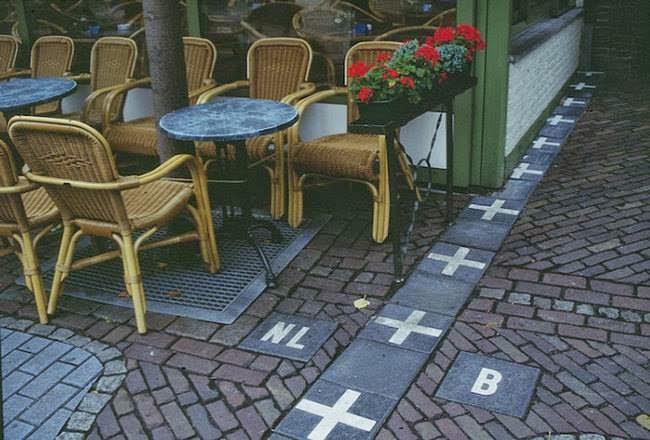 Fronteira entre Holanda e Bélgica