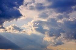 Wolkenschieberei...