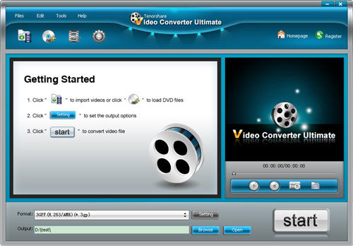 Tenorshare Video Converter Platinum 3.1