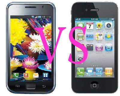 iPhone 4S Versus Samsung Galaxy S II