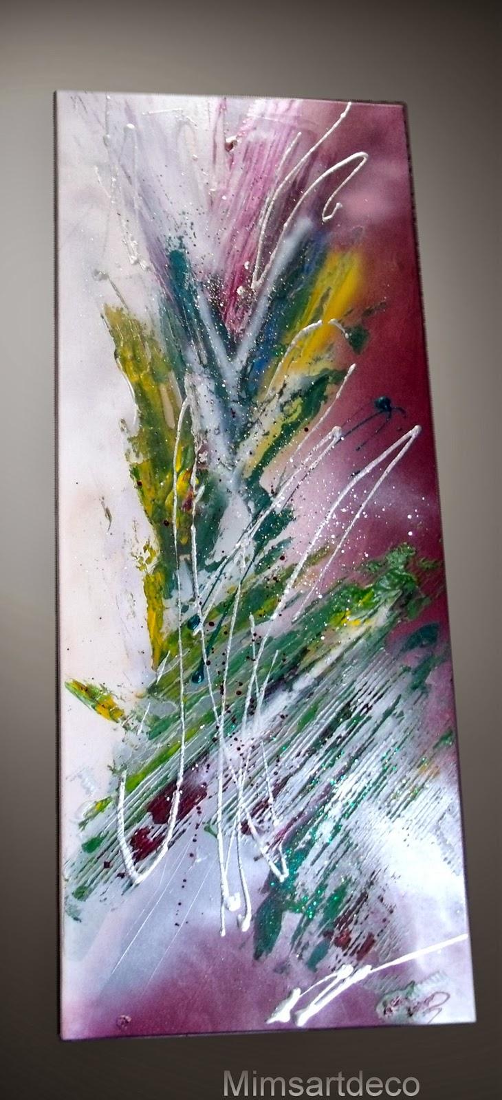 Tableaux moderne design art deco tableaux abstrait - Tableau peinture moderne design ...