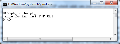 Cara Menjalankan Script PHP