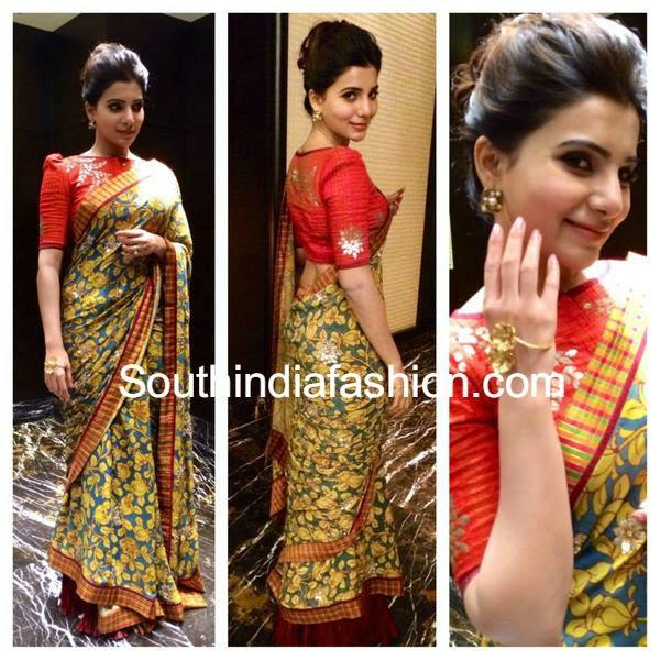 samantha at santhosham awards 2014