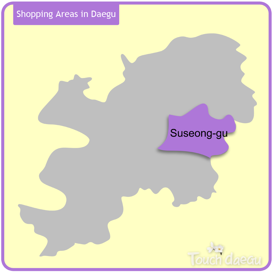 Shopping Areas in Daegu-Suseong-gu