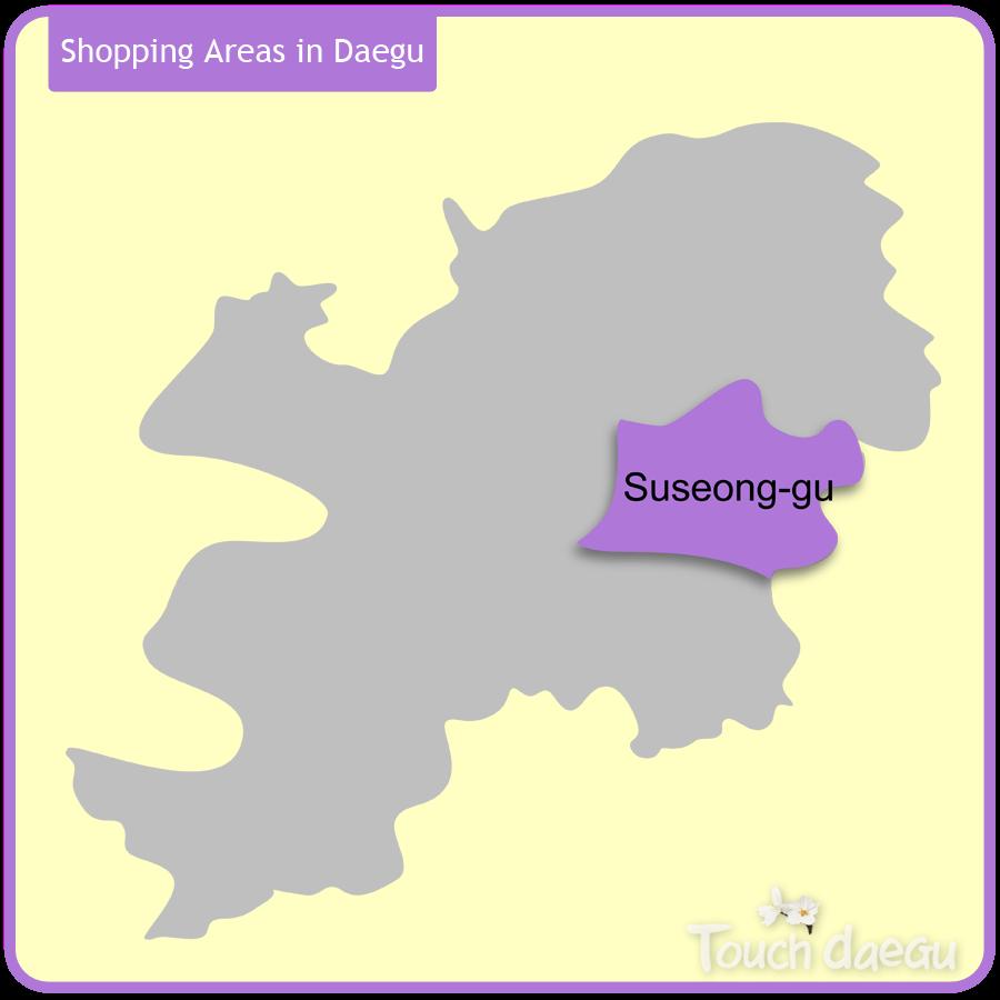 Shopping Areas in Daegu-Suseong-gu