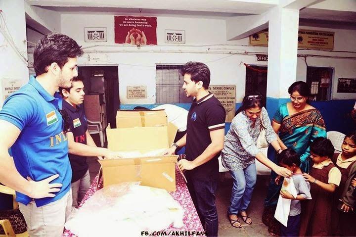 Akkineni Akhil Latest Photos