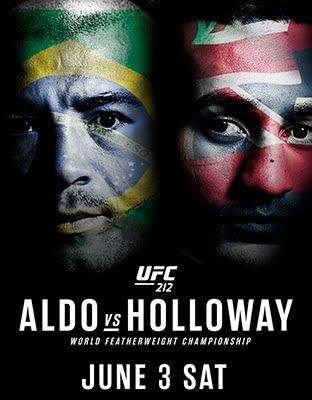 Ver UFC 212 Aldo vs Holloway en VIVO Gratis