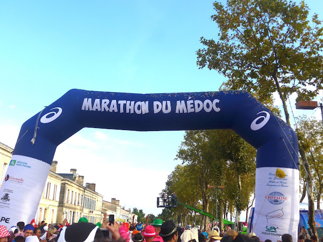 Marathon du Médoc in Bordeaux