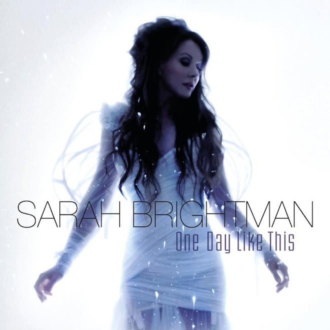 "Sarah Brightman's new single; ""One day like this"" in bespoke Georgia Hardinge design"