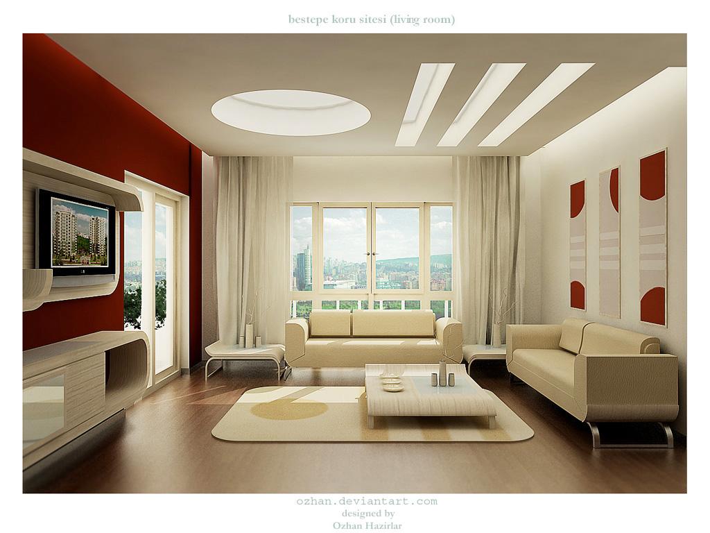Interior Luxurious Living Room | Home Design