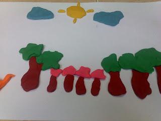 kawung berbahan kertas cat air kuas maka terciptalah karya berikut