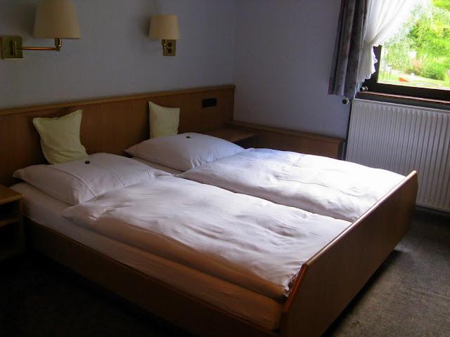Doppelzimmer im Hotel Heidehof
