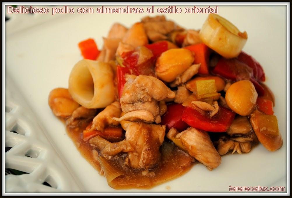 Las recetas de tere blog de recetas de cocina f ciles y - Pollo con almendras facil ...