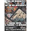 Manifestación 25N Para ser Democrata hay que ser antifascista