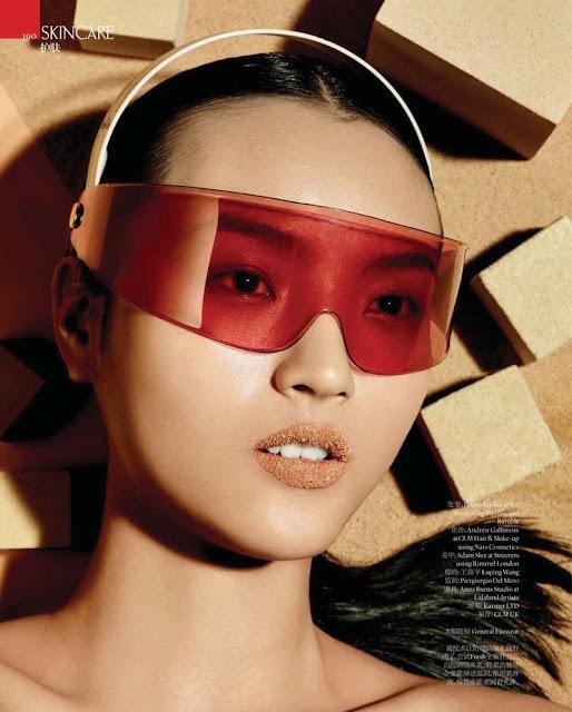 Model @ Luping Wang - Vogue China, June 2015