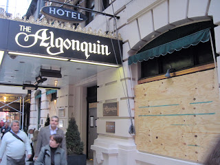The Algonquin hotel is undergoing a renovation