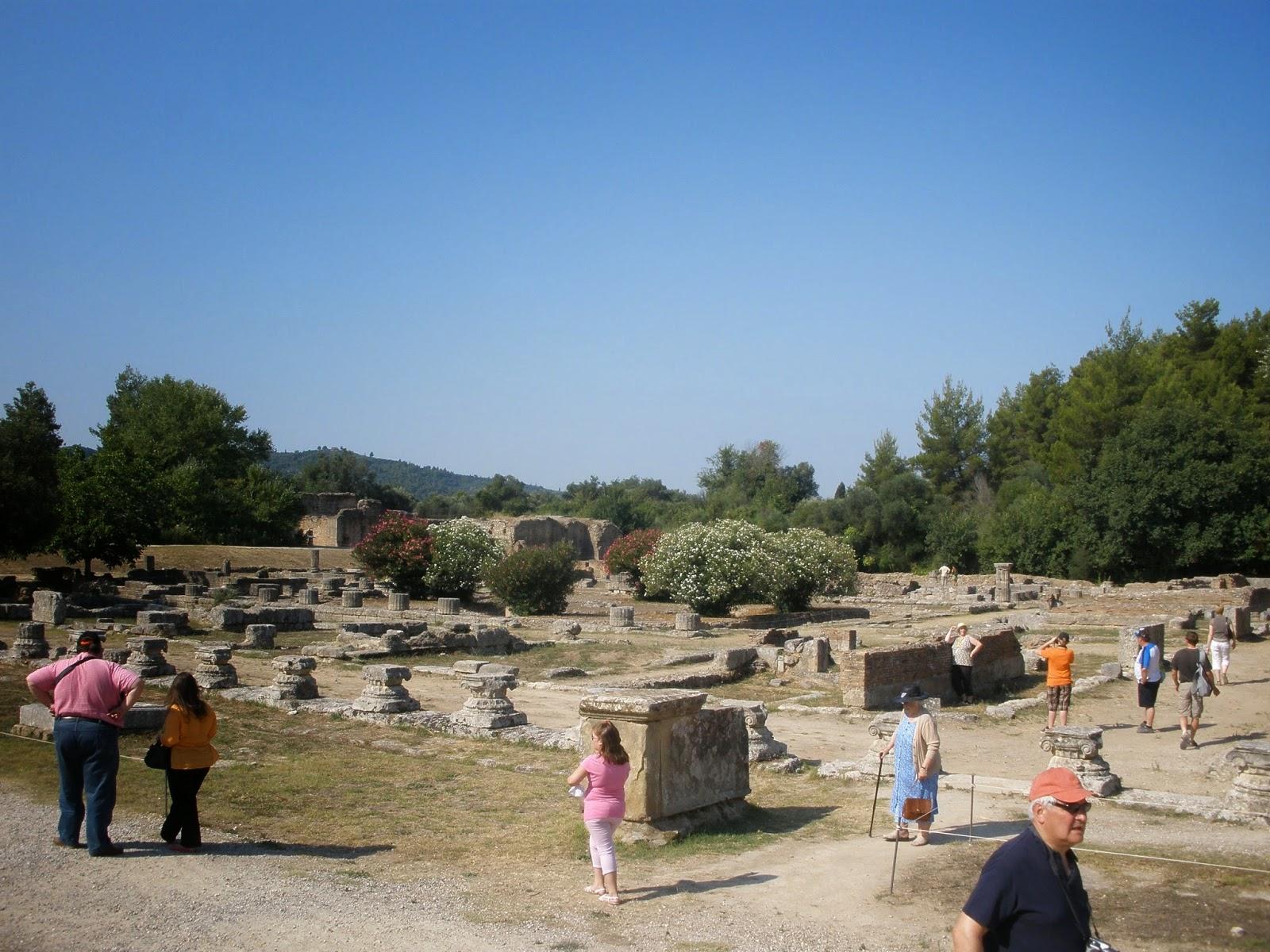 Leonideo, servía como residencia de personas de la alta sociedad y de los atletas.