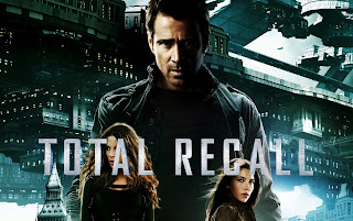 Total Recall 2012 Colin Farrel Jessica Biel Kate Beckinsale HD Wallpaper