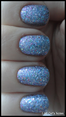 china glaze liquid crystal prismatic collection swatches