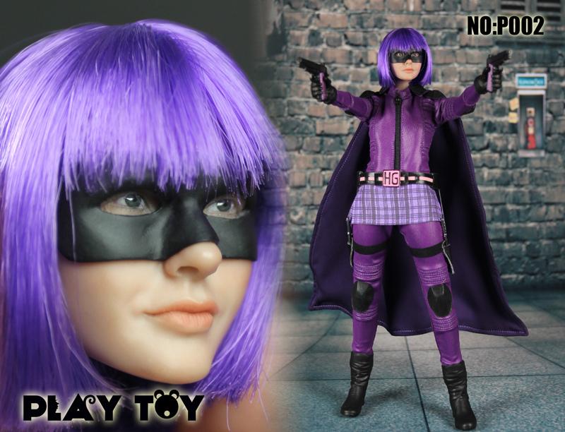Monkey Depot - Boxed Figure: Play Toy Purple Girl