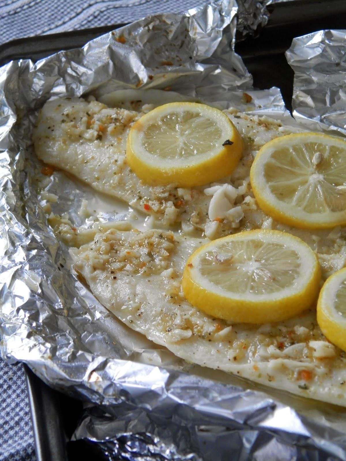 Ces temps ci en cuisine filets de poisson aux herbes sal es - Cuisiner poisson blanc ...
