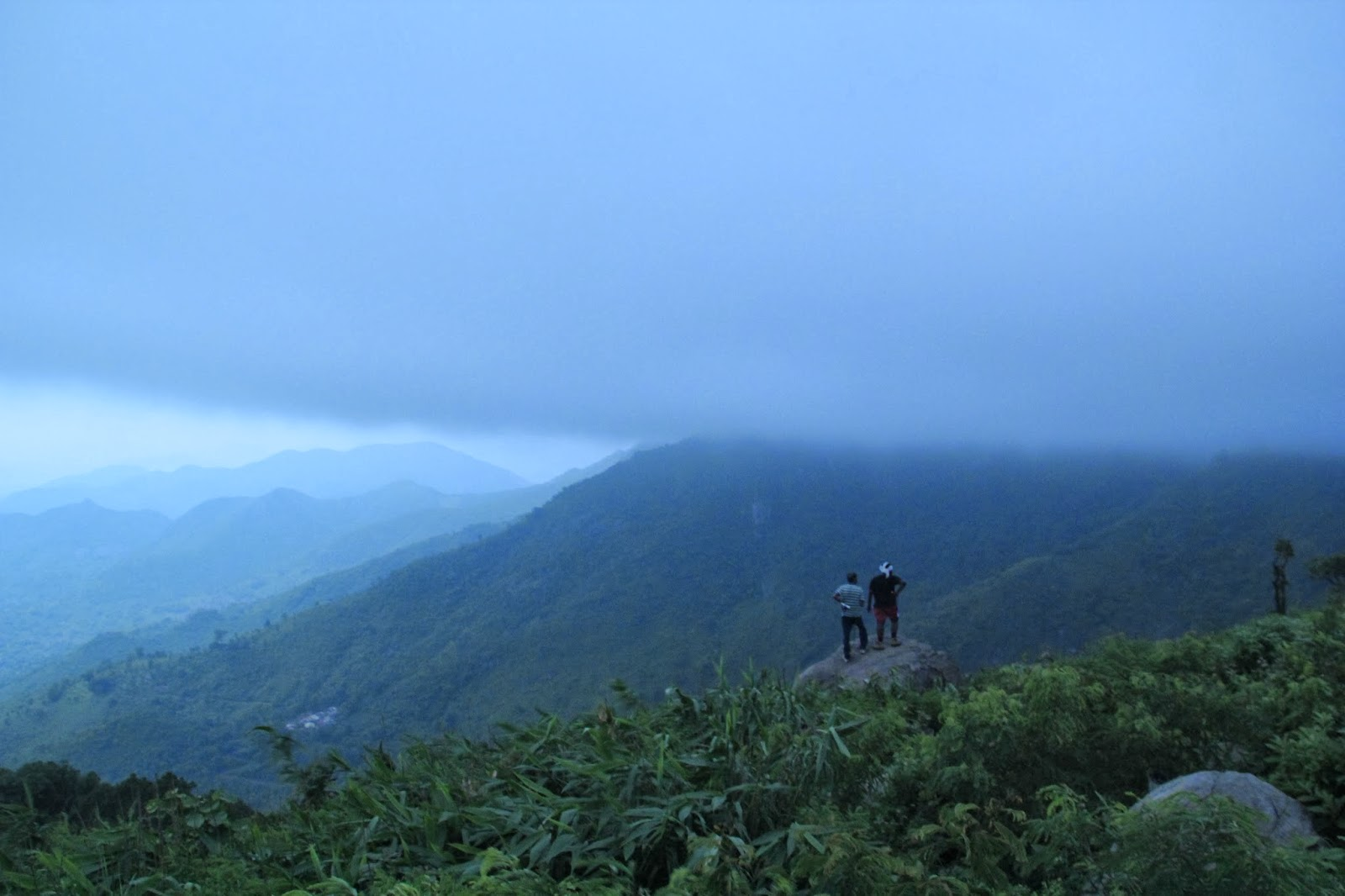 In search of route to mahendragiri