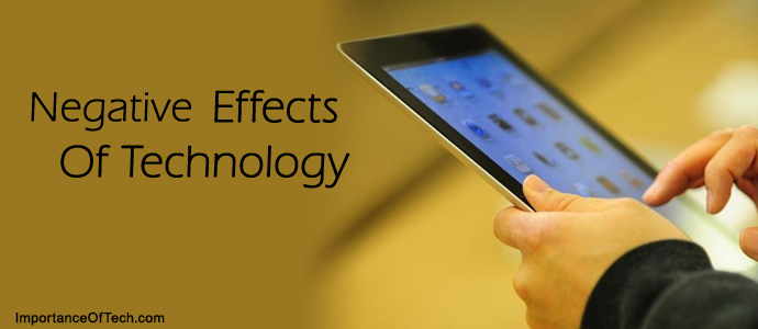 negative effects of technology essays Unlike most editing & proofreading services, we edit for everything: grammar, spelling, punctuation, idea flow, sentence structure, & more get started now.