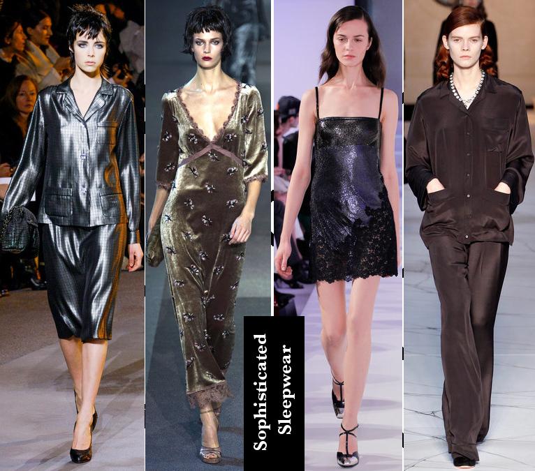 Women's Fall 2013/2014 Trends- Sophisticated sleepwear