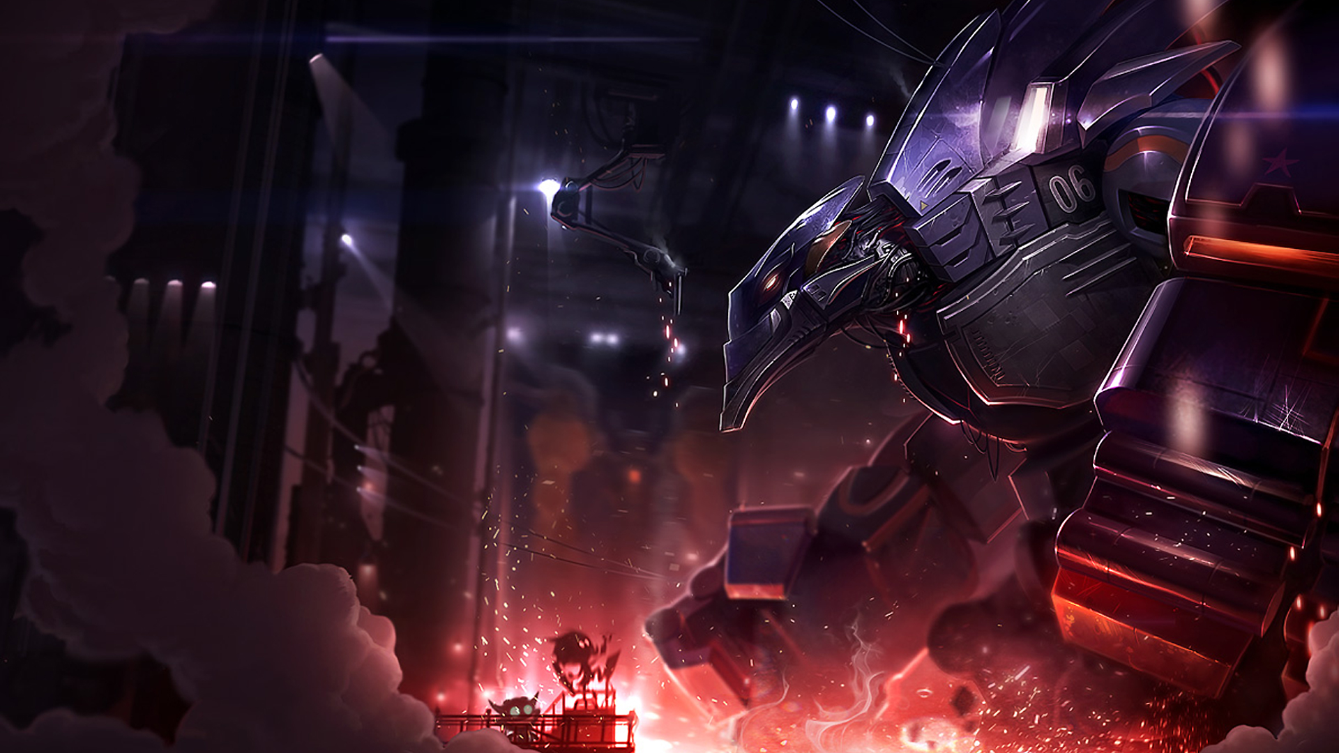 Mecha Malphite Wallpaper HD