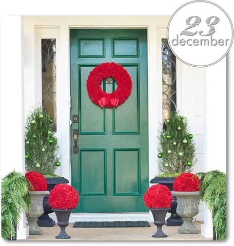 julig entre, julkrans