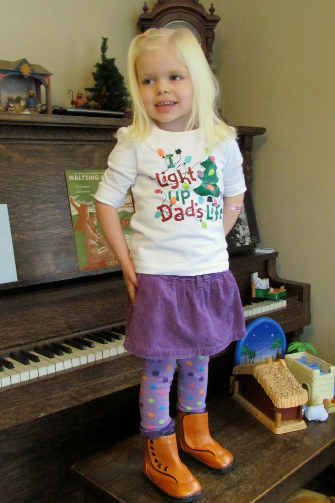 What Tillie Wore What Teddy Wore What Bea Wore Christmas Tree Tee