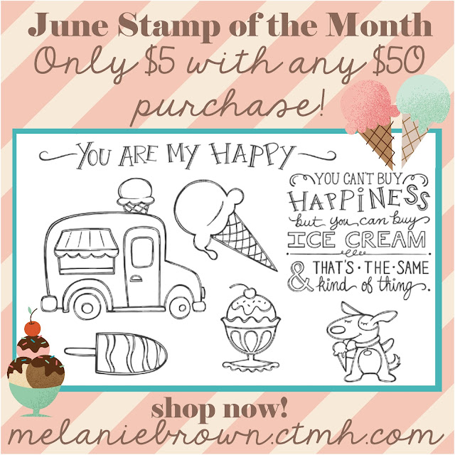 June stamp of the month