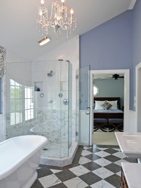 Inspiration in stages for Periwinkle bathroom ideas