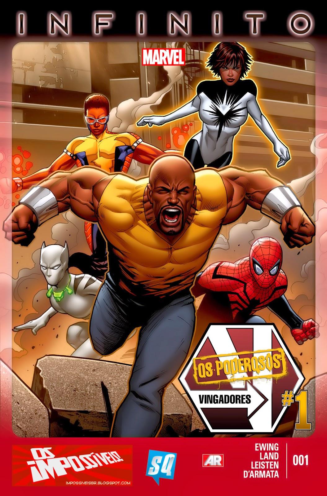 Nova Marvel! Os Poderosos Vingadores #1