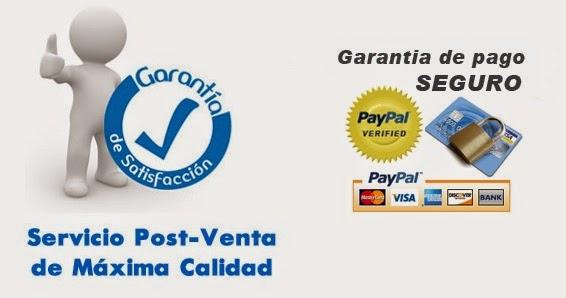 Garantia de satisfaccion y pago seguro