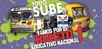 Por el Boleto Educativo Nacional!!