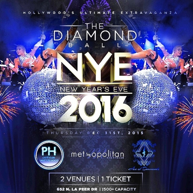 New Years Eve  Penthouse Nightclub